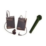 picture of wireless microphone lavalier and hand held